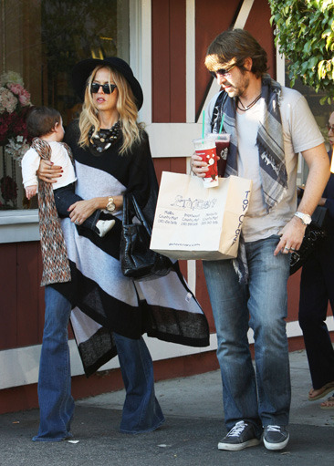 Rachel Zoe clan out and about