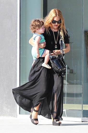 Rachel Zoe & baby