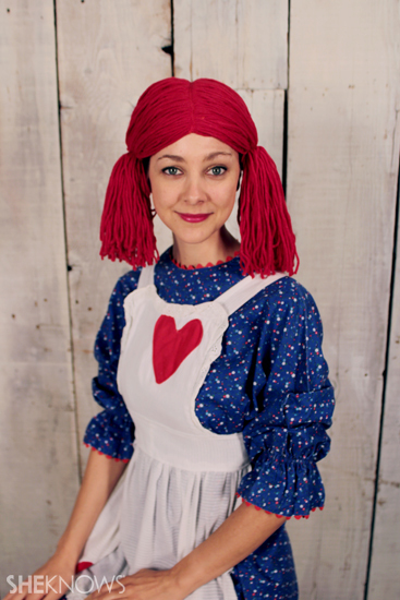 Haloween costume ideas: Raggedy Ann