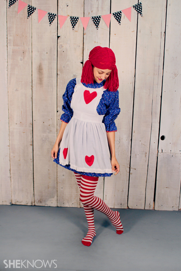 Halloween costume ideas: Raggedy Ann