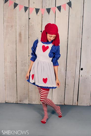 Halloween costume ideas: Raggedy Ann