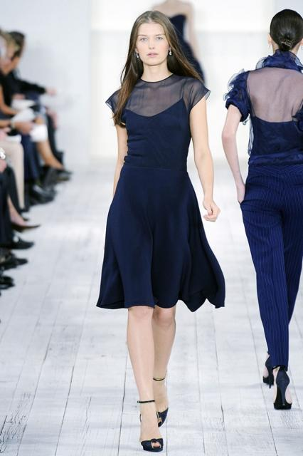 Ralph Lauren Blue Dress