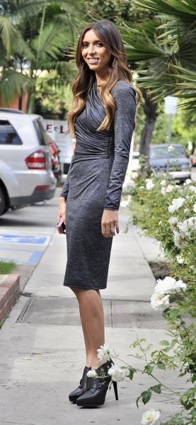 Giuliana Rancic in booties