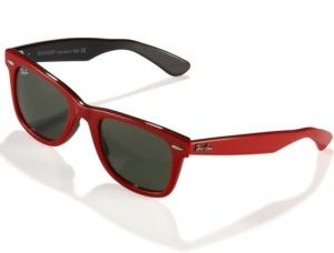 Ray Ban Red Wayfarer Sunglasses