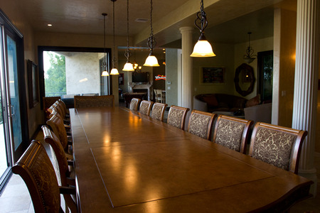 One heck of a dining room table