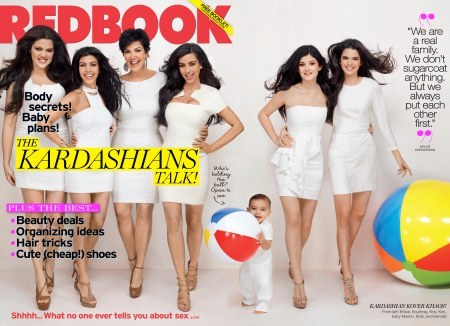 The Kardashian Redbook photo spread.