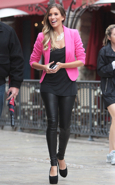 Renee Bargh goes to The Grove in Los Angeles