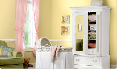 Restful Surroundings - Girl's Nursery