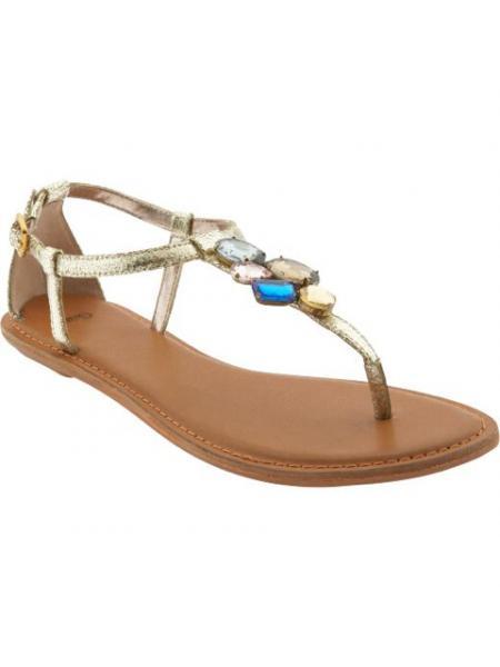 Rhinestone T-strap Sandal