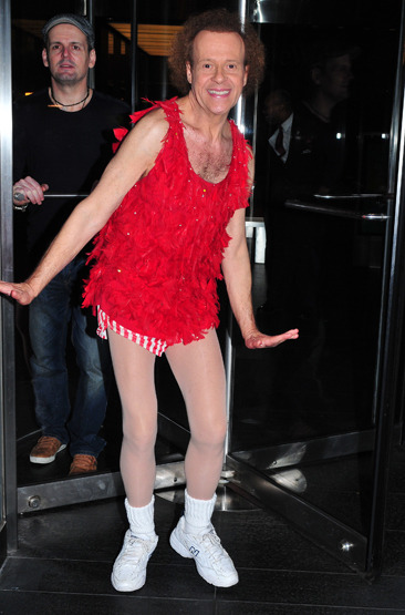 Richard Simmons in New York City