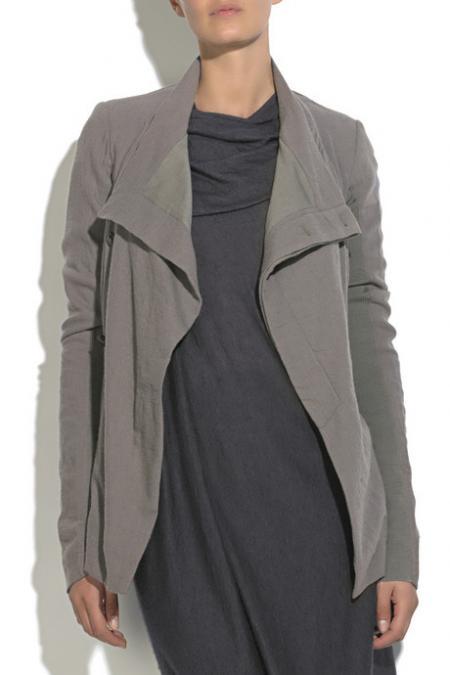 Rick Owens funnel-neck jacket