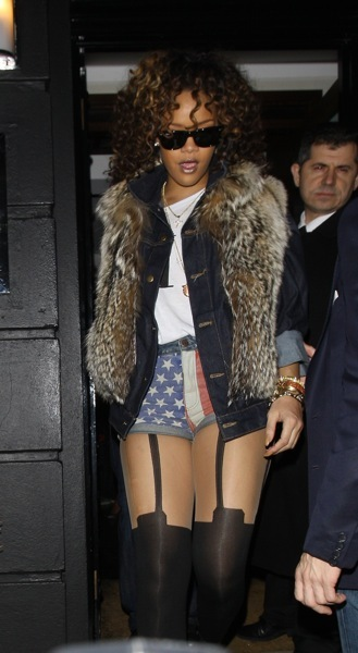 Rihanna&#039;s American style