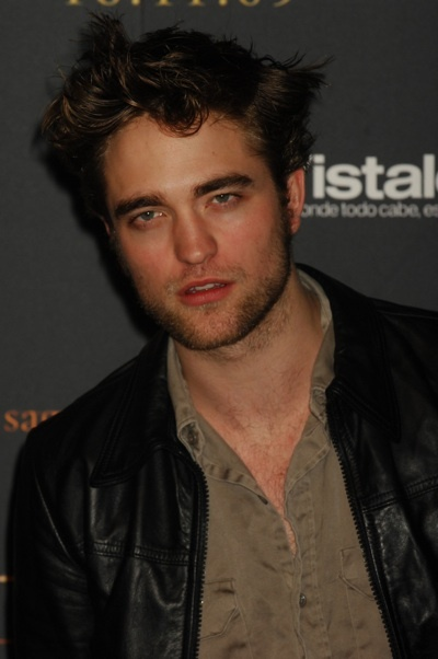 Robert Pattinson Twilight fan event Spain