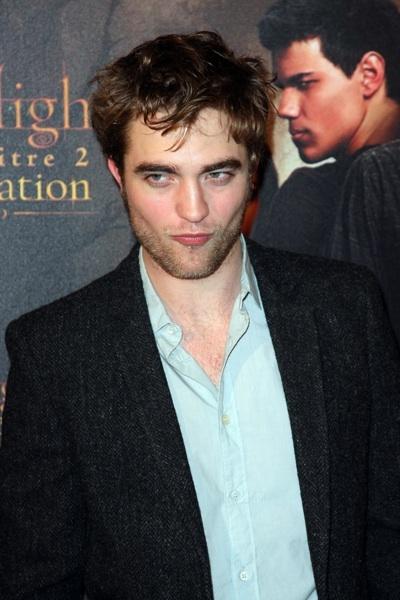 Robert Pattinson New Moon photocall Paris