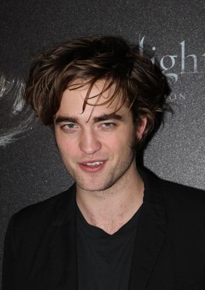Robert Pattinson Twilight French photocall