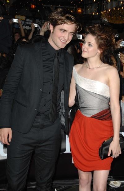 Robert Pattinson Kristen Stewart Twilight premiere