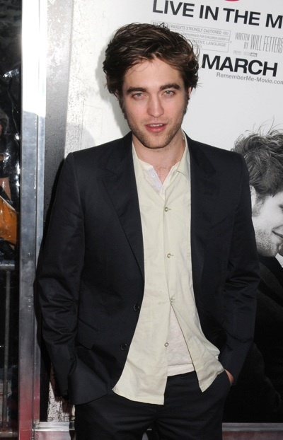 Robert Pattinson Remember Me NY premiere