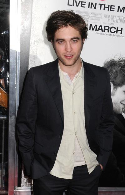 Robert Pattinson Remember Me NY premiere