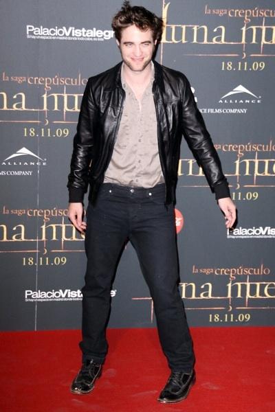 Robert Pattinson New Moon fan party