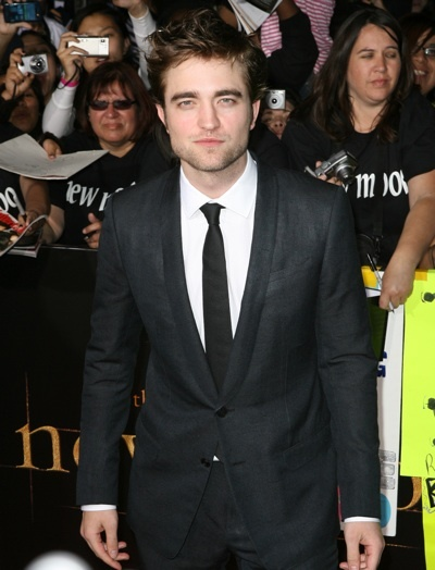 Robert Pattinson New Moon premiere
