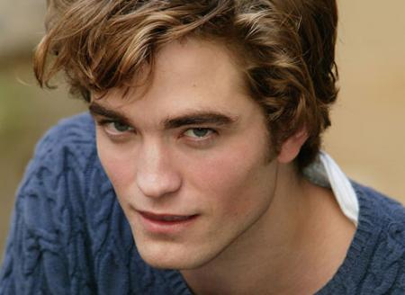 Robert Pattinson head shot