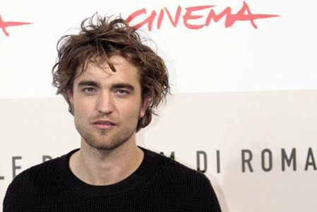 Robert Pattinson in Rome