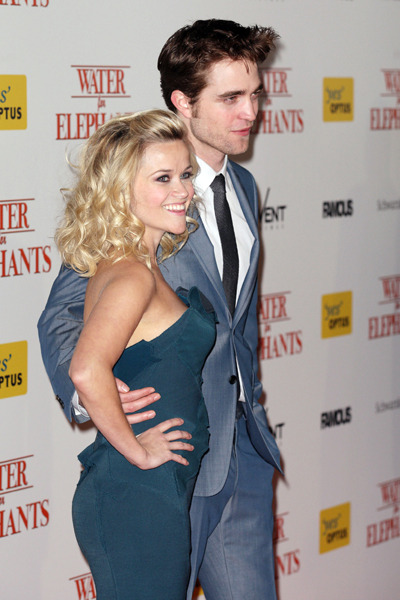 Robert Pattinson and Reese Witherspoon Water for Elephants Australian premiere