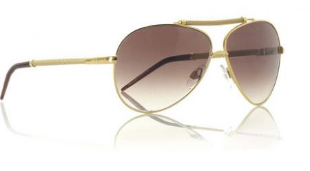 Roberto Cavalli Metal Aviator Sunglasses