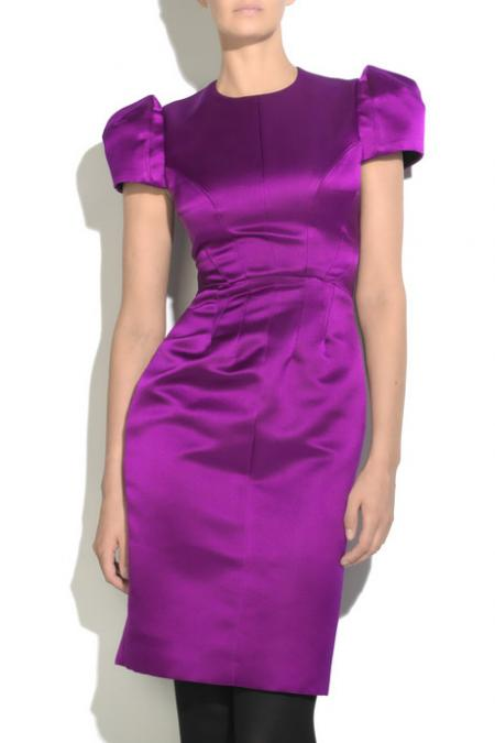 Roksanda Ilincic satin dress