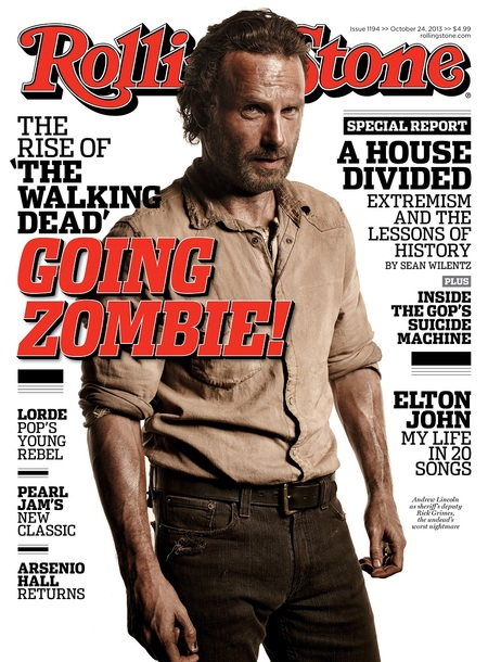 Andrew Lincoln on Rolling Stone