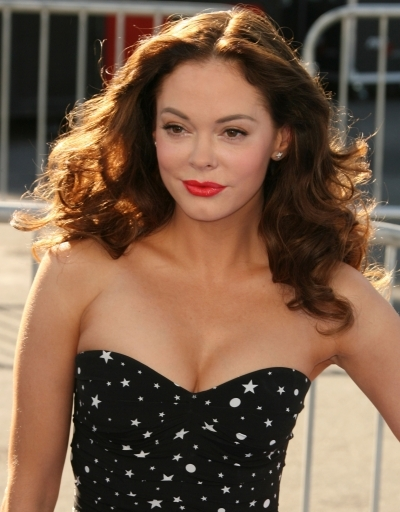 Rose McGowan's Full Curls