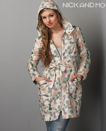 Rose Raincoat