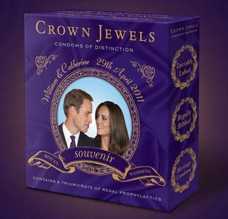 Royal wedding condoms