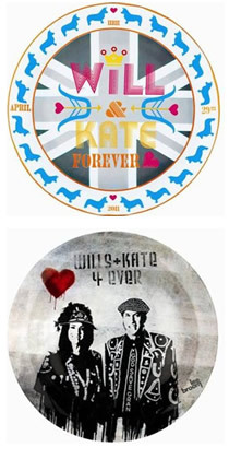 Will & Kate Forever commemorative plate