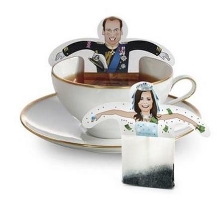 Royal wedding tea bags