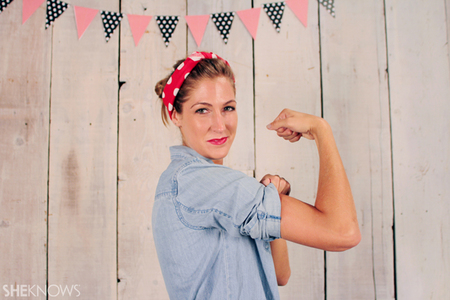Halloween Costume Ideas: Rosie the Riveter