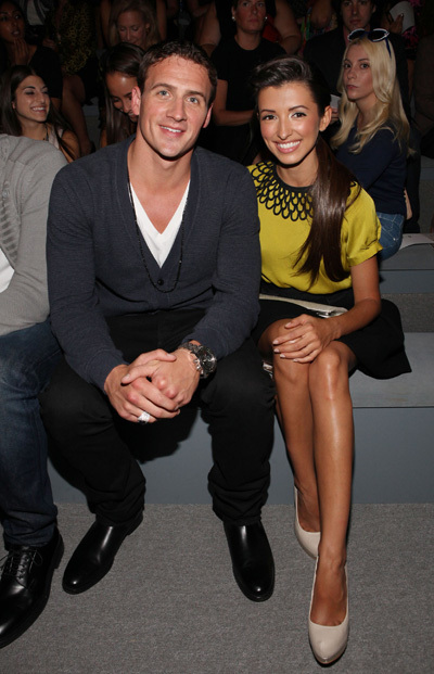 Ryan Lochte and India de Beaufort 