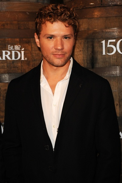 Ryan Phillippe partying it up at Bacardi Anniversary.