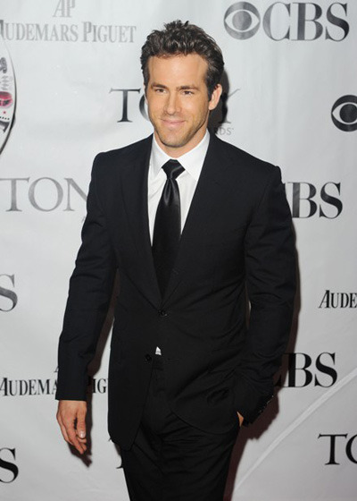 Ryan Reynolds at the Tonys