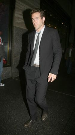 Ryan Reynolds Arriving at &amp;quot;Late Night with Jimmy Fallon&amp;quot;