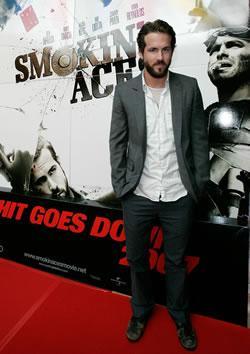 "Ryan Reynolds at the Myspace ""Smokin' Aces"" Premiere in Austraila"
