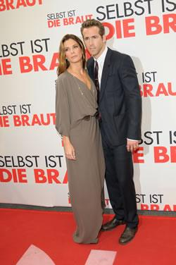 "Sandra Bullock and Ryan Reynolds at ""The Proposal"" German Premiere"
