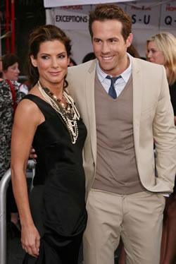 "Sandra Bullock and Ryan Reynolds at ""The Proposal"" World Premiere in Los Angeles"