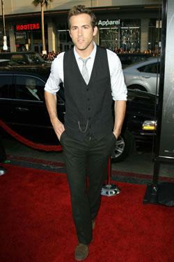 """Ryan Reynolds at the """"Xmen Origins: Wolverine"""" Premiere"""