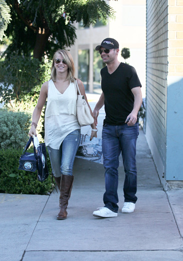 Julianne Hough and Ryan Seacrest leave lunch