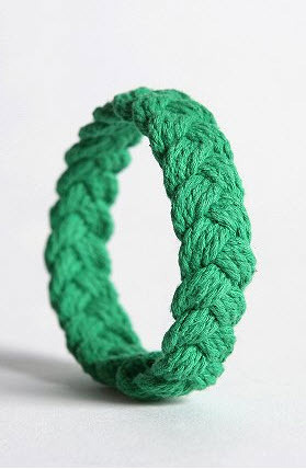 Add a pop of color to your wrist with this sailor knot bracelet from Urban Outfitters.