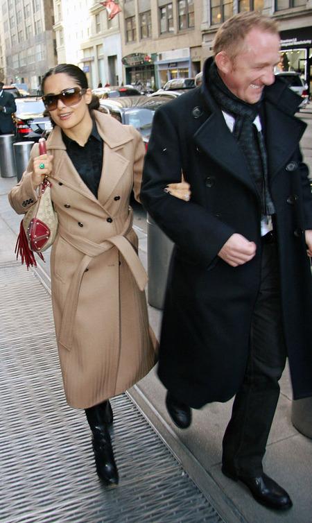 Salma Hayek & Francois-Henri Pinault (2008)