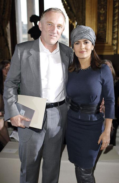 Salma Hayek & Francois-Henri Pinault (2010)