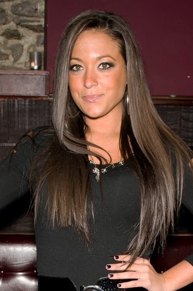 Sammi Giancola's long, sleek hairstyle