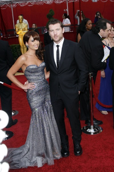 Sam Worthington and Girlfriend at the Academy Awards